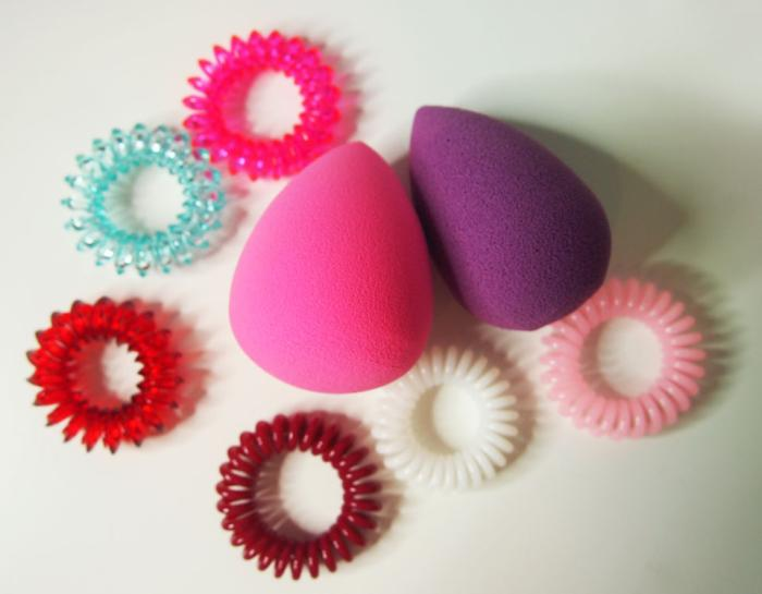 Beautyblender ja Invisibobble
