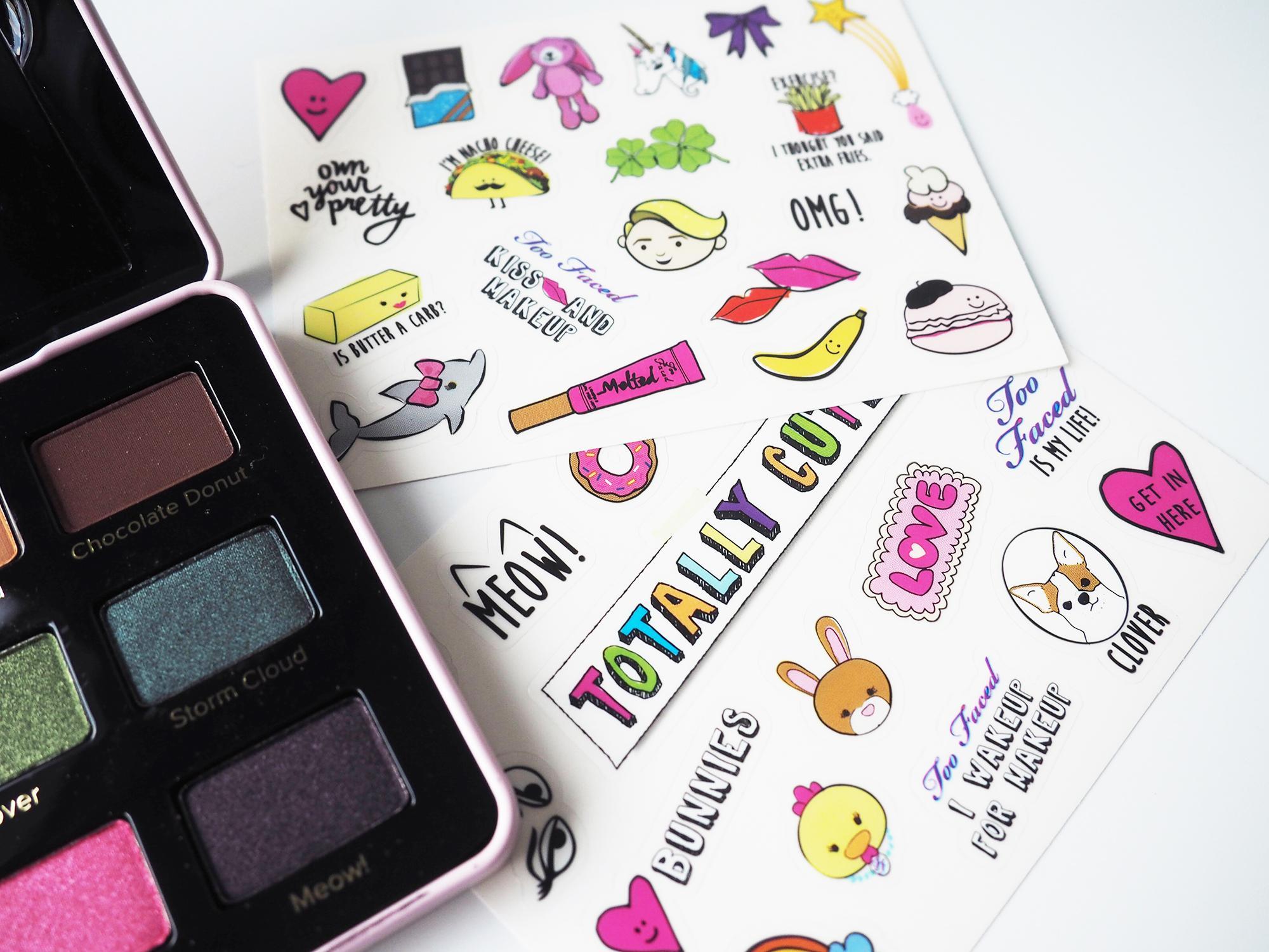totally cute too faced